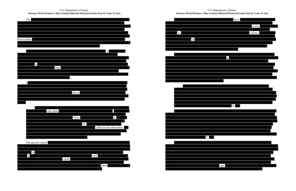 An anonymous source leaked the first draft document to the Meow York Times where it contained more redactions than ever before.