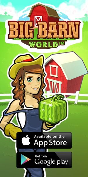 airG's flagship social farming game Big Barn World has been active since 2011! Even today, there are thousands of players active who are ready to meet new players and help them play Big Barn World. Big Barn World focuses on meeting friends first, and the farming second. New features are added frequently to keep the game feeling fresh.